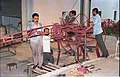 Diplodocus in Making - Dinosaurs Alive Exhibition - NCSM - Calcutta 1995 459.JPG