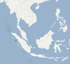 Distribution of Pteropus melanotus.png
