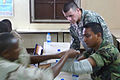 Djibouti U.S. Army Africa Soldiers offer first responder course 090806 (3819692167).jpg
