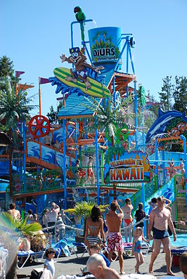 Waterpark in Djurs Sommerland