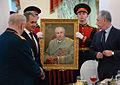 Dmitry Timofeyevich Yazov, Sergey Shoigu, Arkady Bakhin 02.JPG