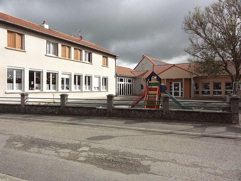 Dolving (Moselle) école