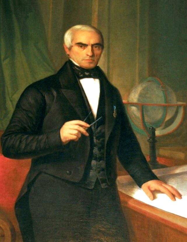 Domingo Fontán por Antonio María Esquivel, 1852
