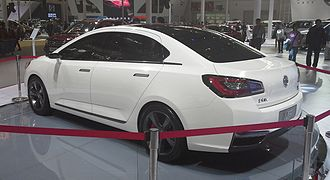 Dongfeng Fengshen L60 - Dongfeng Fengshen L60 Concept rear