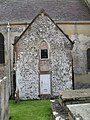 Door to the north transept at St Mary, Slindon - geograph.org.uk - 1721297.jpg