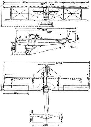 Dorand AR - Dorand AR.1 drawing