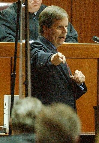 Doug Jones (politician) - Jones during the trial of Bobby Frank Cherry