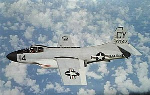 Douglas EF-10B Skyknight of VMCJ-2 in flight, circa in the 1960s.jpg