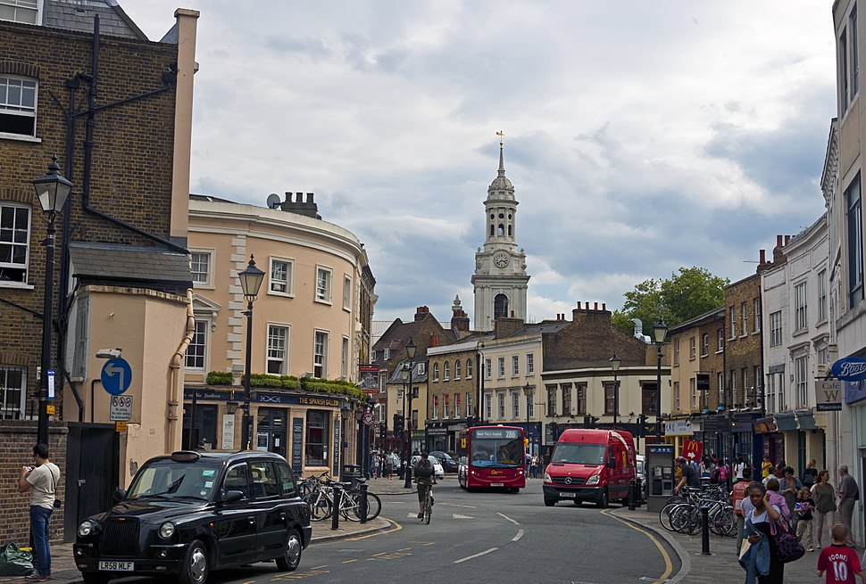 Downtown Greenwich, England 2