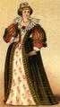Dräkt, Fransk adelsdam, Nordisk familjebok.png