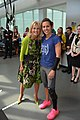 Dr. Jill Biden visits with Army 1st Lt. Kelly Elmlinger.jpg