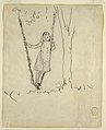 Drawing, Girl Standing in a Swing, 1879 (CH 18175253).jpg