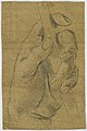 Drawing, Study- The left hand of a man with a stick, 17th century (CH 18118687).jpg