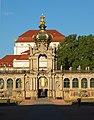 Dresden Altstadt Zwinger Kronentor 05.JPG