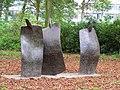 Drie Figuren Elselien van der Graaf Park Vechtzoom Utrecht.JPG