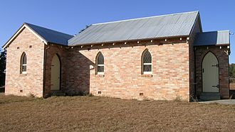 Dundee, New South Wales - Church, Dundee, NSW