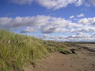 Eglinton Country Park - Stevenston sand dunes.