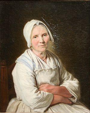 Françoise Duparc - Old woman Sitting by Françoise Duparc, Musée des beaux-arts de Marseille