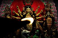 Durga puja from the view of a Flame.JPG