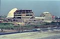 Dynamotion Hall and Space Odyssey Under Construction - Science City - Eastern Metropolitan Bypass - Calcutta 1996-March 287.JPG