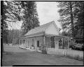 EAST REAR AND NORTH SIDE - Wawona Hotel, Little White, Wawona, Mariposa County, CA HABS CAL,22-WAWO,1-C-2.tif