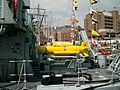ECA robot submersible craft, Canning Dock, Liverpool -.JPG