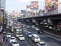 EDSA traffic (Cubao, Quezon City)(2017-12-30) 2.jpg
