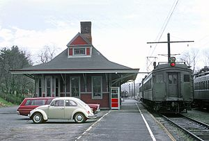 EL Gladstone, N.J. Station on April 25, 1970.jpg