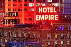 Hotel Empire Chuck Bab New York