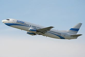 Rate of climb - Boeing 737 Enter Air, climbing with normal angle of attack for civil airplanes, to give optimal rate of climb