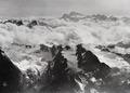 ETH-BIB-Rosablanche, Grand Combin, Mont Blanc v. N. W. aus 4200 m-Inlandflüge-LBS MH01-002118.tif