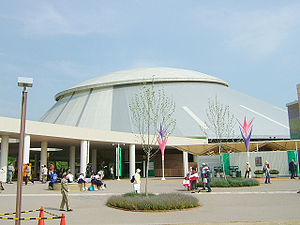 World Cosplay Summit - Expo Dome, the venue for the 2005 Cosplay Championship