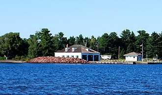 Eagle Harbor Coast Guard Station Boathouse - Image: Eagle Harbor Coast Guard Station Boathouse D