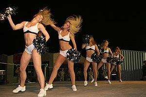 Philadelphia Eagles Cheerleaders - Image: Eagles Cheerleaders Unison June 7 08