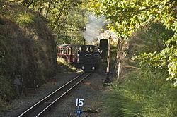 Earl of Merioneth at Tan-y-Bwlch railway station (8328).jpg