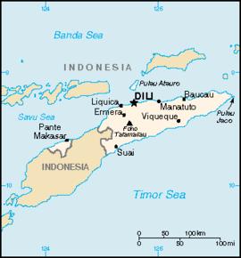 øst timor kart Øst Timor – Wikipedia øst timor kart