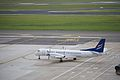 Eastern Airways SAAB 2000 G-CERZ Brussels Airport.jpg