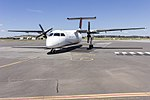 Eastern Australia Airlines (VH-SCE) de Havilland Canada DHC-8-315Q at Wagga Wagga Airport (2).jpg
