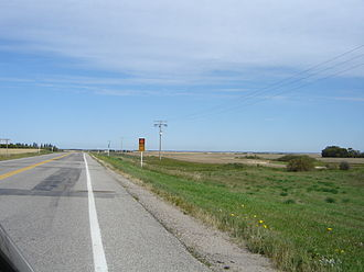 Saskatchewan Highway 10 - Image: Echo Valley Scenic Route Hwy 10