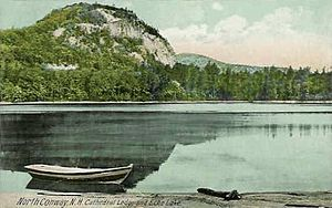 North Conway, New Hampshire - Cathedral Ledge in 1914