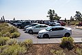 Eclipse weekend in Craters of the Moon - Caves parking area (2) (36928674081) (2).jpg