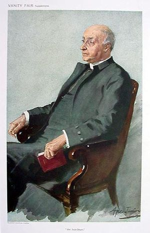 Edgar Sheppard - Edgar Sheppard pictured in Vanity Fair on 12 April 1911