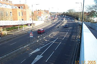A41 road - The A41 in Edgware