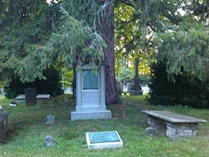 Edmund Randolph - Grave of Edmund Randolph