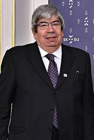 Eduardo Ferro Rodrigues - Image: Eduardo Ferro Rodrigues, Bratislava Informal Parliamentary Summit 2016 10 07