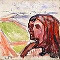 Edvard Munch - Head by Head in Landscape.jpg