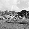 Een houtzagerij, Bestanddeelnr 252-4798.jpg