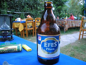 Efes Beverage Group - The classic Efes Pilsen bottle