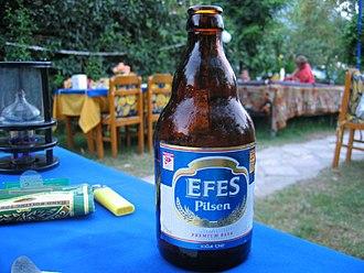 Efes Beverage Group - The classic Efes Pilsen bottle