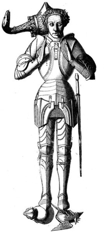 Cavalry of the Empire Memorial - Tomb effigy of the Earl of Warwick, St Mary's Church, Warwick